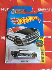 Muscle Tone #195 White 2016 Hot Wheels Case Q