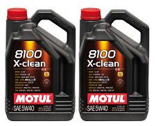 MOTUL Motoröl 8100 X-clean 5W-40 2 x 5 Liter Audi Ford MB Opel Renault VW