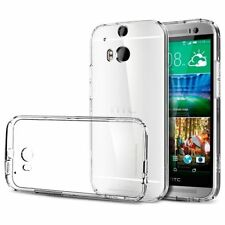 COQUE HTC ONE M8 TRANSPARENT CLEAR GEL SILICONE SOUPLE (TPU)