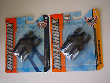 MATCHBOX BATMAN THE BAT LOT OF TWO PACKAGE VARIATIONS