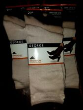6 New Pairs George Ladies Khaki Lycra Dress Socks Casual Women's Shoe Size 4-10