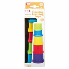 Stacking Learning Cups (22x7x6.5) CM Kids Gerry Develop Motor Skill Baby Toddler