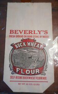 Vintage Flour Bag Beverley's Reed Creek Milling Co Wytheville, VA