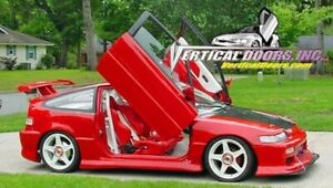 Vertical Doors - Vertical Lambo Door Kit For Honda Civic / CRX 1988-91 HB/4DR