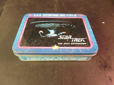 U.S.S. Enterprise Ncc-1701-D Star Trek Double Set Unsealed Playing Cards / Box