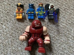 Fits With Lego Marvel Superheroes X Men Wolverine Cyclops Storm