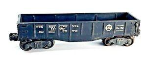 Vintage Lionel Pennsylvania 347000 Gondola Black 2452x