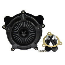 Grey Air Cleaner Spike Intake Filter For Harley Touring Street Glide Dyna FXDLS
