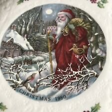 Royal Doulton 1980 Christmas Plate Fourth Of A Series In Original Box