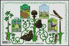 FRANCE BLOC N°120** BF salon du timbre 2008 Jardins de France Cote 80,00 € MNH