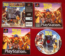 PS1 RPG Game WILD ARMS AU/EUR/UK PAL PlayStation