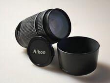 Nikon NIKKOR 70-300mm f/4.0-5.6 D AF ED Lens 281535 w/ Hood & Lens Cap