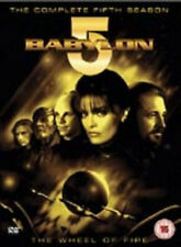 BABYLON 5 SEASON 5 DVD Fifth Series Furlan UK Release New Sealed R2
