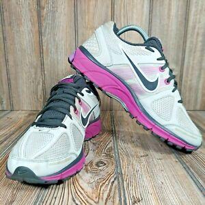 NIKE Pegasus 28 Women's Sz 10 Purple White Running Shoes Sneakers 443802-007