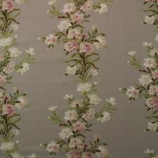 "EDINBURGH WEAVERS CARNATION TAUPE FLORAL VINE EXCLUSIVE FABRIC BY YARD 54""W"