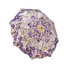 Galleria Van Gogh Irises Art Automatic Open and Close Folding Umbrella Brolly