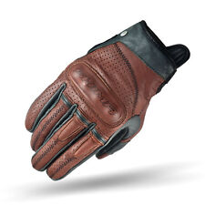 Shima Caliber Brown Heritage Retro Vintage Classic Summer Motorcycle Gloves