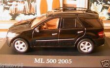 MERCEDES BENZ ML 500 BLACK IXO 1/43 NOIRE GERMANY NEW W164 ALTAYA SCHWARZ NOIR