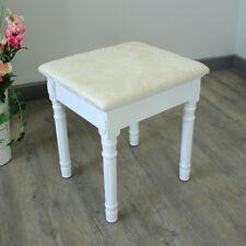 Weiß Gepolstert Schminktisch Stuhl Billig Französisch Chic Mädchen Schlafzimmer