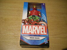 "MARVEL DC COMICS SUPERHERO COMIC BOOK HEROES 6"" IRON MAN FIGURE BRAND NEW IN BOX"