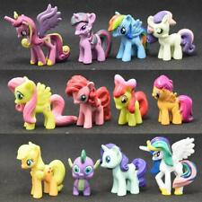 12 Pieces My Little Pony Multiple Toys Figure Toy in 4-5cm/1.57- 1.97in Figurine