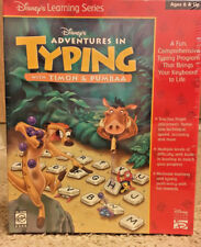 Disney's Adventures in Typing with Timon & Pumbaa for PC, Mac