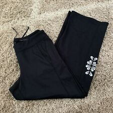 Athleta Black Workout Exercise Pants Zipper Ankle Womens Size Sp