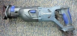 Kobalt 20V Volt RECIPROCATING SAW K20-LR26A Cordless Bare Tool Only