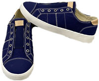 Spenco Women's Navy Malibu Slip-On Casual Orthotic Comfort Shoes Size 7.5