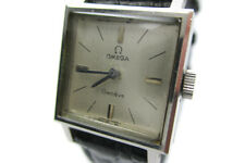 Auth OMEGA GENEVE Vintage Silver Dial Hand-winding Women's Watch RW11660L