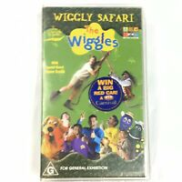 The Wiggles Wiggly Safari with Steve Irwin G PAL VHS ABC Video 2002. Tested