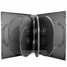 1 Pack New Black DVD Case Hold 10 Discs With Tray 33mm [FAST FREE SHIPPING]