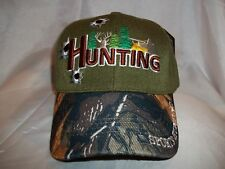 SPORTS HUNTING BALL CAP HAT IN OLIVE GREEN   CAMO NEW 728b45eb8390