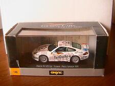 PORSCHE 911 GT3 CUP #21 TELDAFAX PIRELLI SUPERCUP 1999 RALF KELLENERS ONYX 1/43