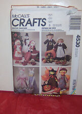 Reduced! McCall's 4530 Festive Touches Holiday Centerpieces Pattern