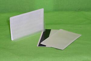 Polaroid Magnetkarten mit Laminiereinsteckfeld  weiß