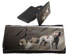 Frauen Geldbörse Brieftasche American Bulldog 2 Bulldogge Portemonnaie