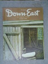 DOWN EAST Maine mag Oct 1973 Pomological Society ,  Rockland - St George Trolley