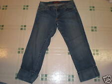 SZ-3? JUNIOR HOTKIS LO-RISE JEAN STRETCH CAPRIES #E-44