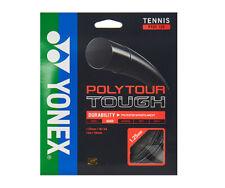 YONEX Poly Tour Tough 1.25mm 12m 16 Gauge Tennis String Reel Black PTGT-125