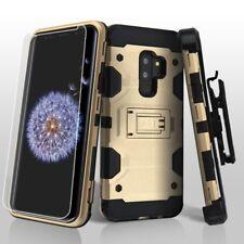 FOR SAMSUNG GALAXY S9 PLUS G965 GOLD HEAVY DUTY IMPACT CASE RUGGED HOL