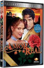 AMOR REAL * Novela * New Sealed 2-DVD Boxset * Spanish Telenovela 2005