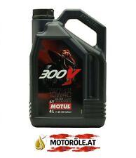 1x 4 Liter Motul 300V 10W40 Motorradöl Factory Line Road Racing Rennsport 4T 4l