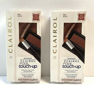 CLAIROL, POWDER ROOT, TOUCH-UP, RED, ROOT COVER, FOR HAIR & BROWS (2 Count)