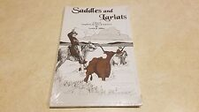 Saddles and Lariats - Book By Lewis B. Miller