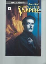 Anne Rice's Interview with a Vampire #1 (Innovation 1991) NM- 9.2 Vampire Lestat