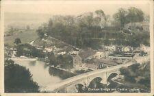 Ludlow Dinham bridge and castle 1933