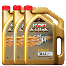 3 x 5 Liter Castrol EDGE 0W-40 SN A3B4