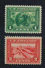 CKStamps: US Stamps Collection Scott#397 1c Mint LH OG #398 Mint NH OG