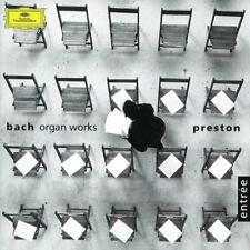 Simon Preston-Bach, J.S.: Organ Works CD CD  New